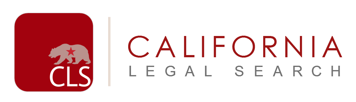 California Legal Search, Inc. Logo