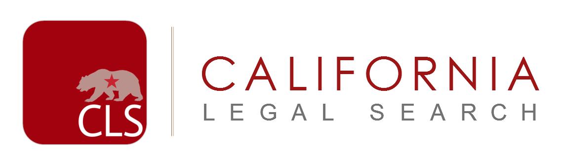 California Legal Search, Inc. Logo